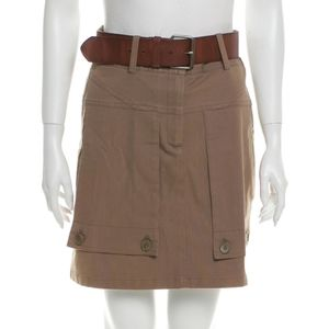 Theory Belt & Skirt Utility Tan/brown Size 4